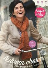 KNITTING PATTERN Ladies Lace Patterned Stole Scarf 180cm Rooster PATTERN