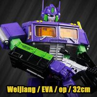 Weijiang EVA Optimus Prime Purple mp10 32cm Transformers Robot Action Figure Toy