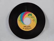Yellow Payges - Judge Carter  45  Uni Records  promo