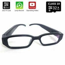 HD Eye Glasses Hidden Camera w/ Built in DVR 32GB Memory & One Button Operation