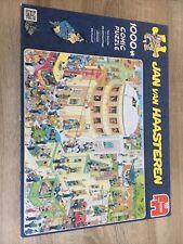 Jan Van Haasteren 1000 Piece Jigsaw The Escape Complete