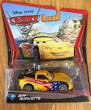 Disney Pixar Cars 2 JEFF GORVETTE #7 Mattel Diecast NEW