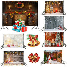 3x5ft Backdrop Christmas Xmas Photography Baby Photo Background Studio Props UK
