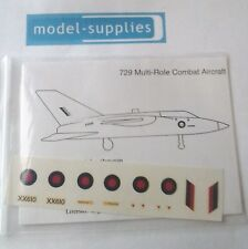 Dinky 729 MRCA  reproduction decal set with instructions