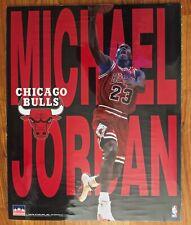 Original Michael Jordan Authentic Starline NBA Poster 16x20 - Rare - USA - 1997
