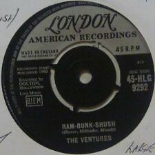 "The Ventures(7"" Vinyl 1st Issue 2nd State)Ram Bunk Shush-London-HLG 9292-UK-Ex/E"