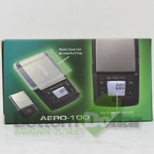 AWS AERO-100 Digital Pocket Scale With Expansion Tray Back-Lit LCD 100X0.01 Gram