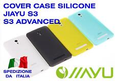 COVER CASE SILICONE JIAYU S3 ADVANCED S3+ PLUS FUNDA COQUE MORBIDA GOMMA GEL TPU