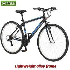 Schwinn Hybrid Bike Black 700C Men's Cruiser Alloy Frame Sport Road Bicycle New!