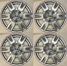 4 X New 16 inch 2013 - 2018 Fits Nissan Sentra Wheel Hubcap  Silver Wheel Cover