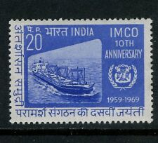 India stamps:1969 The 10th Anniv of Inter-Gov Maritime Consultative Org CV=$2.5