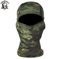 Tactical Outdoor Camo Quick-Drying Face Mask Balaclava Hood Hat Airsoft Hunting