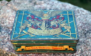 Rarity Cigarette Box Cigarette Case Tin Bosch Truchsess Metal Box