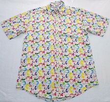 MENS short sleeve monkey ape SHIRT TOP = A BATHING APE baby milo = XL - (km81)