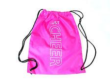 Turnbeutel pink Cheerleader Gymsac Cheer Beutel Tasche Bag bedruckt mit Glitzer