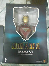 Hot Toys HTB 08 Iron Man 2 Mark VI 6 buste 1/4th Bib Comme neuf bon marché