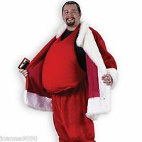 *Padded Fancy Dress Fat Beer Belly Stomach Stuffer Santa Suit Costume Accessory*