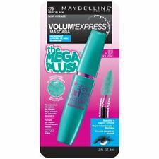 Maybelline Volum Express The Mega Plush Mascara 275 VERY BLACK New