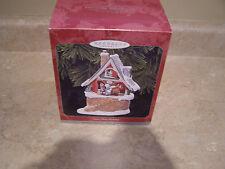 Hallmark Ornament - Santa's Merry Workshop - QX6816 - NIB - Signed by Artist
