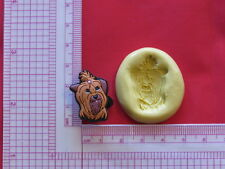 Yorkie Dog K9 Silicone Mold A905 Candy Chocolate Craft Fondant Soap