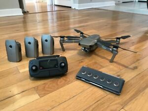 DJI Mavic Pro Platinum (4 Batteries, ND Filters, Others) - Excellent Condition