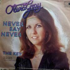 "7"" 1977 KULT ! OLIVIA GRAY : Never Say Never  /VG+++"