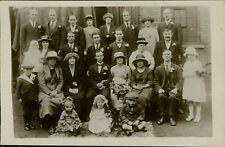 c.1920 Vintage Wedding Group. Imperial Studio, 44 Freemason's Road . AF.490
