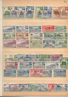46 timbres oeuvres coloniales neufs