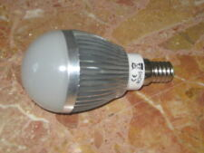 3 AMPOULES LED E14  globe 220V 4w cool white ECONOMIQUE 6000-6500K 300lm blanc