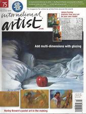 INTERNATIONAL ARTIST (Oct/Nov 2010 #75) James Guerney Be Your Own Model ~F823