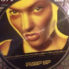 WELCOME TIGA • Pump Up • Vinile 12 Mix PICTURE •