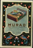 Murad Turkish Cigarettes Art Deco nice 1926 vintage advertisement print