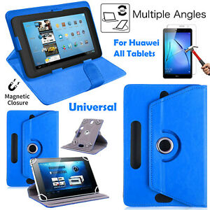 Universal All Tablet 360°Rotate Book Flip Stand Case For Huawei Media Pad 7-10in