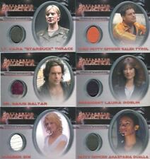 Battlestar Galactica Season One Costume Card Set 12 Cards