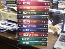 (10) ER Season DVD Lot: Seasons 1-9 + 11   w/Slipcovers  George Clooney