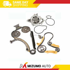 Timing Chain Kit Balance Shaft Water Pump Fit 00-11 Chevrolet Saturn Pontiac 2.2