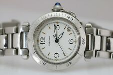 Cartier Pasha Automatic 35mm Stainless Steel Watch