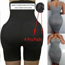 Women's Padded Butt Lifter Panty Hip up Enhancer Underwear Fake Ass Shapewear US