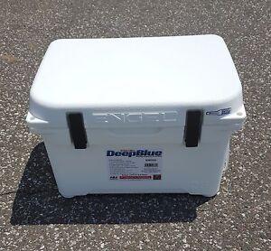 Engel Deep Blue 25Qt 25 Quart White DeepBlue Ice Chest Cooler - ENG25W