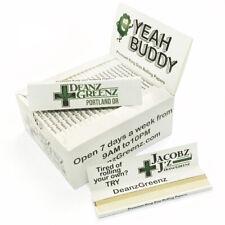 YE*H BU*DY HEMP Rolling Papers 108*45mm 50 Booklets=1600 leaves smoking