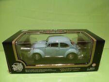 ROAD TOUGH 92078 VW VOLKSWAGEN BEETLE 1967 - BLUE 1:18 - NM IN BOX