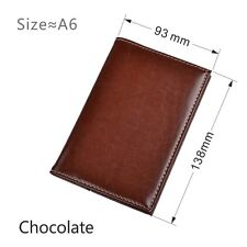 Pocket Notebook Paper School Office Notepad Planner Mini A6 Diary Journal Book