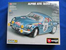 Burago Renault Alpine A110 1600S (Bburago cod.7001) Kit/Bausatz