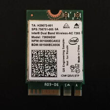 Hp 756751 Intel 7265ngw Dual Band Wireless-ac 802.11ac Dual Band Ngff Wi-fi card