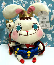 Cute Bunny King Rabbit Plush Stuffed Doll Toy Height: 12""