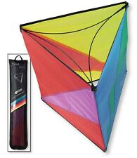 "Kite Triad Spectrum 16"" x 16"" x 16"" Box Kite, String, Winder PRISM 83496"