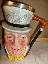 * Vintage Lancaster & Sandland * el señor Micawber * Pintado a Mano Toby jarra/jarra *
