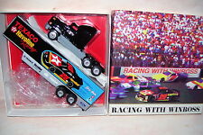 1996 Texaco Havoline Racing Ernie Irving Winross Diecast Delivery Trailer Truck