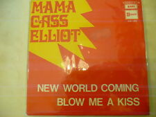 "MAMA CASS(MAMAS&PAPAS)""NEW WORLD COMING-disco 45 giri EMI Italy 1970"""