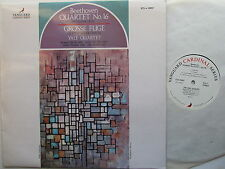 "Beethoven Quartet No.16 /Grosse Fuge  12"" Lp Yale Quartet Vanguard VCS 10097"